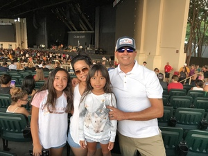 Jose attended Pentatonix With Special Guests Echosmith and Calum Scott on Jul 26th 2018 via VetTix