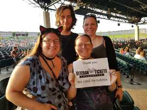 Misty attended Pentatonix With Special Guests Echosmith and Calum Scott on Jul 26th 2018 via VetTix