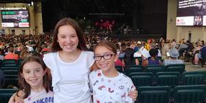 Kevin attended Pentatonix With Special Guests Echosmith and Calum Scott on Jul 26th 2018 via VetTix