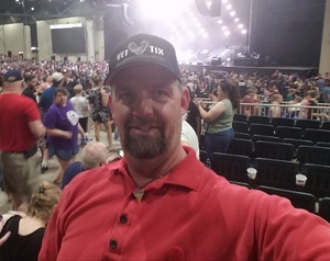 BRIAN attended Pentatonix With Special Guests Echosmith and Calum Scott on Jul 26th 2018 via VetTix