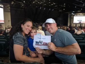 Ray attended Pentatonix With Special Guests Echosmith and Calum Scott on Jul 26th 2018 via VetTix