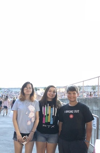 Arian attended Pentatonix With Special Guests Echosmith and Calum Scott on Jul 26th 2018 via VetTix