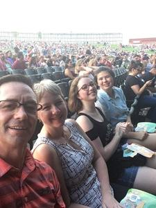 Dave attended Pentatonix With Special Guests Echosmith and Calum Scott on Jul 26th 2018 via VetTix