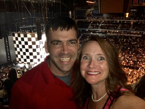 Peter attended Rod Stewart With Cyndi Lauper on Aug 1st 2018 via VetTix