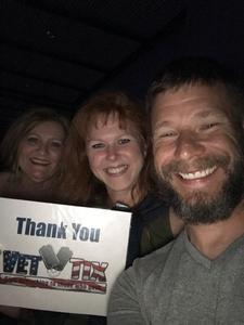 Janet attended Rod Stewart With Cyndi Lauper on Aug 1st 2018 via VetTix