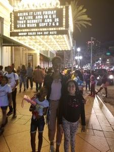 Diarra attended Bring It! Live on Aug 3rd 2018 via VetTix