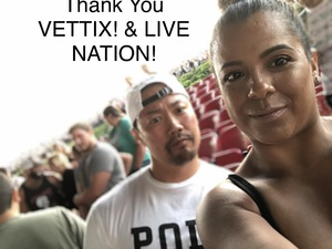LEO attended Niall Horan: Flicker World Tour 2018 - Pop on Aug 2nd 2018 via VetTix