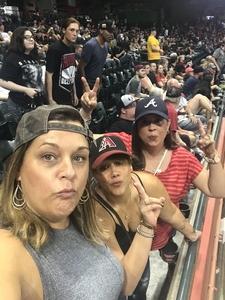 Jose attended Arizona Diamondbacks vs. Atlanta Braves - MLB on Sep 6th 2018 via VetTix