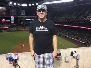 David attended Arizona Diamondbacks vs. Atlanta Braves - MLB on Sep 6th 2018 via VetTix