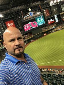 James attended Arizona Diamondbacks vs. Atlanta Braves - MLB on Sep 6th 2018 via VetTix