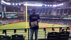 Vernon attended Arizona Diamondbacks vs. Atlanta Braves - MLB on Sep 6th 2018 via VetTix