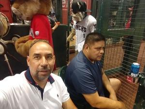 Richard attended Arizona Diamondbacks vs. Atlanta Braves - MLB on Sep 6th 2018 via VetTix