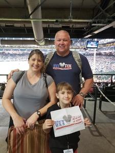Doyle attended Arizona Diamondbacks vs. Atlanta Braves - MLB on Sep 6th 2018 via VetTix