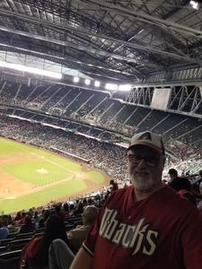 Don attended Arizona Diamondbacks vs. Atlanta Braves - MLB on Sep 6th 2018 via VetTix