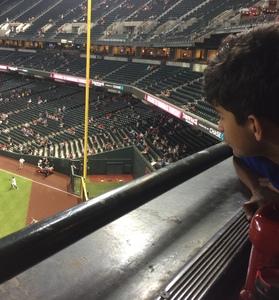 Maria attended Arizona Diamondbacks vs. Atlanta Braves - MLB on Sep 6th 2018 via VetTix