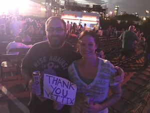 Danielle attended 3 Doors Down & Collective Soul: the Rock & Roll Express Tour on Jul 24th 2018 via VetTix
