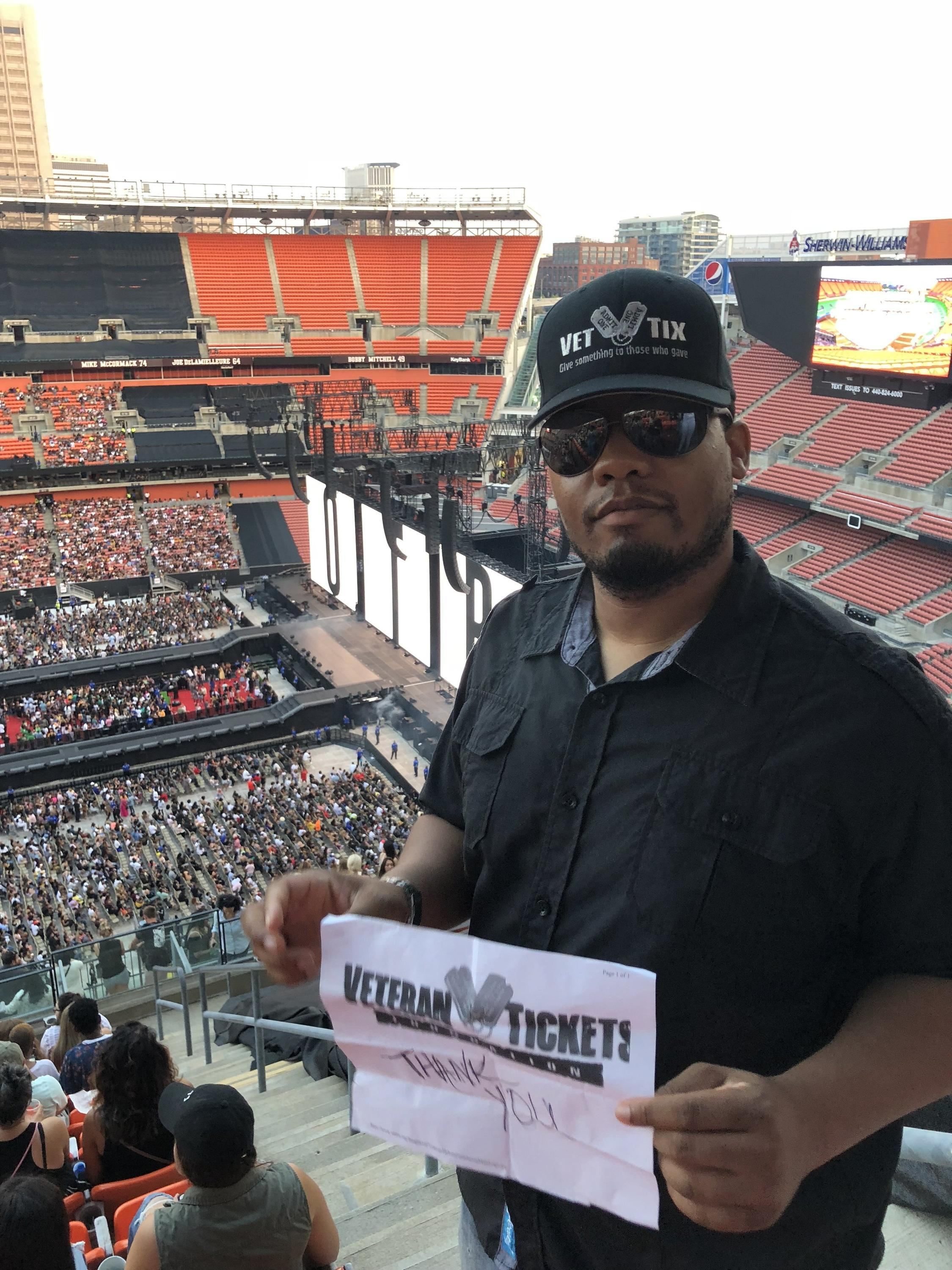 68a7c4a8df8a7 Anthony attended Jay-z and Beyonce- Otr II on Jul 25th 2018 via VetTix