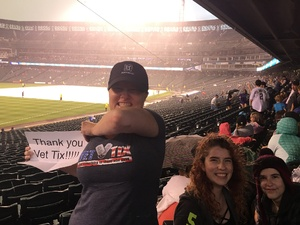 Jennifer attended Colorado Rockies vs. Pittsburgh Pirates - MLB on Aug 6th 2018 via VetTix