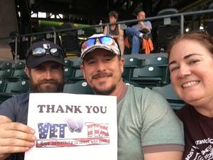 John attended Colorado Rockies vs. Pittsburgh Pirates - MLB on Aug 6th 2018 via VetTix