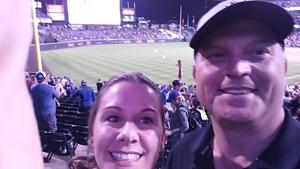 Jenny attended Colorado Rockies vs. Pittsburgh Pirates - MLB on Aug 6th 2018 via VetTix