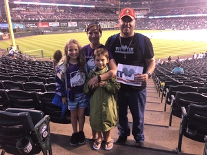 Austin attended Colorado Rockies vs. Pittsburgh Pirates - MLB on Aug 6th 2018 via VetTix