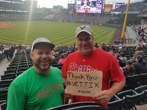 Brian attended Colorado Rockies vs. San Diego Padres - MLB on Aug 21st 2018 via VetTix