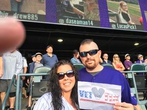 Korey attended Colorado Rockies vs. San Diego Padres - MLB on Aug 21st 2018 via VetTix