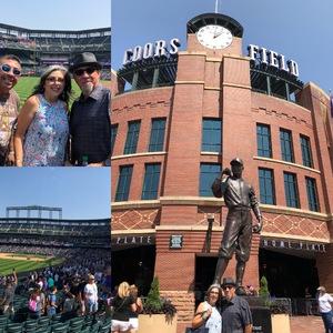 Manny attended Colorado Rockies vs San Diego Padres - MLB on Aug 23rd 2018 via VetTix