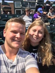 Julia attended Colorado Rockies vs San Diego Padres - MLB on Aug 23rd 2018 via VetTix