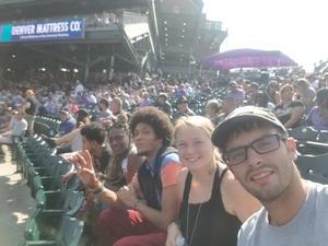 Adrian attended Colorado Rockies vs San Diego Padres - MLB on Aug 23rd 2018 via VetTix
