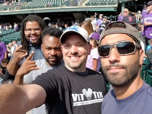 Harry attended Colorado Rockies vs San Diego Padres - MLB on Aug 23rd 2018 via VetTix