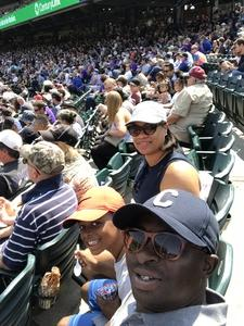 Gregory attended Colorado Rockies vs San Diego Padres - MLB on Aug 23rd 2018 via VetTix