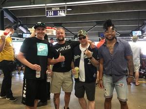 Kyle attended Colorado Rockies vs San Diego Padres - MLB on Aug 23rd 2018 via VetTix