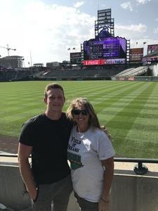 Charles attended Colorado Rockies vs San Diego Padres - MLB on Aug 23rd 2018 via VetTix