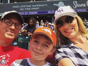Peter attended Colorado Rockies vs San Diego Padres - MLB on Aug 23rd 2018 via VetTix