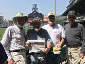 Drew attended Colorado Rockies vs San Diego Padres - MLB on Aug 23rd 2018 via VetTix