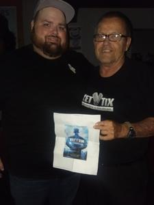 James attended Comedian Justin Smith - Friday Show on Jul 27th 2018 via VetTix