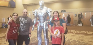 Jason attended Infinity Toy and Comic Con on Aug 25th 2018 via VetTix