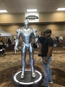 Marvin attended Infinity Toy and Comic Con on Aug 25th 2018 via VetTix