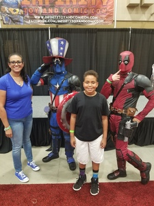 jenniffer attended Infinity Toy and Comic Con on Aug 25th 2018 via VetTix