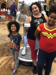 Issicia attended Infinity Toy and Comic Con on Aug 25th 2018 via VetTix