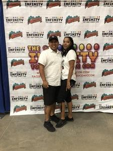 Angel attended Infinity Toy and Comic Con on Aug 25th 2018 via VetTix