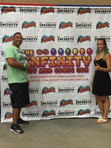 Juan attended Infinity Toy and Comic Con on Aug 25th 2018 via VetTix