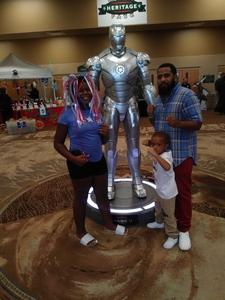 ANDRES attended Infinity Toy and Comic Con on Aug 25th 2018 via VetTix