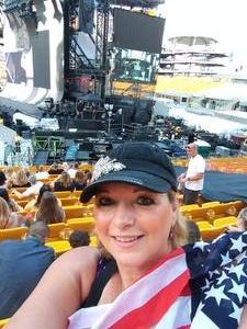 Belinda attended Taylor Swift Reputation Stadium Tour on Aug 7th 2018 via VetTix