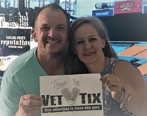 Shannon attended Taylor Swift Reputation Stadium Tour on Aug 7th 2018 via VetTix