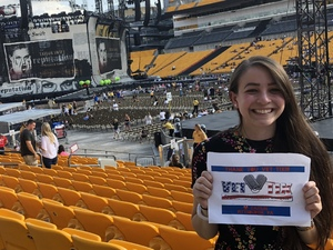 Caitlin attended Taylor Swift Reputation Stadium Tour on Aug 7th 2018 via VetTix