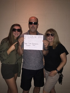 Bruce attended Taylor Swift Reputation Stadium Tour on Aug 7th 2018 via VetTix