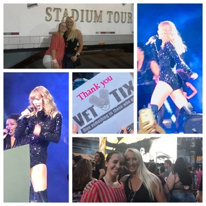 Kendra Barrowman attended Taylor Swift Reputation Stadium Tour on Aug 7th 2018 via VetTix
