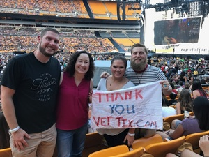 William Sumners attended Taylor Swift Reputation Stadium Tour on Aug 7th 2018 via VetTix
